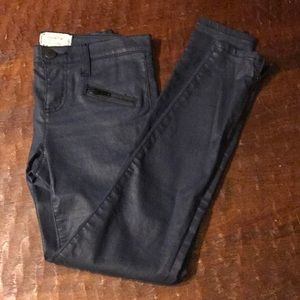 Current Elliot Skinny Jeans with ankle zipper